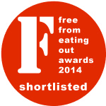 Free From Eating Out Awards 2014