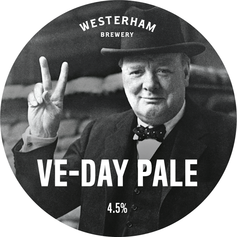 VE Day Pale Ale Cask Badge